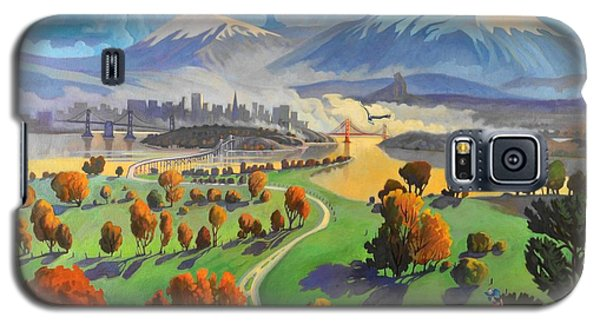Galaxy S5 Case featuring the painting I Dreamed America by Art James West