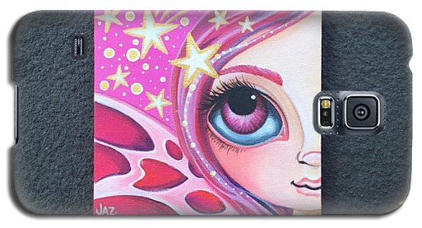 I Finished Another Mini Painting Today Galaxy S5 Case by Jaz Higgins