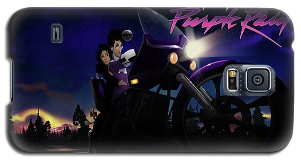 Galaxy S5 Case featuring the digital art I Grew Up With Purplerain 2 by Nelson dedos Garcia