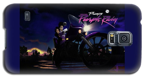 I Grew Up With Purplerain 2 Galaxy S5 Case