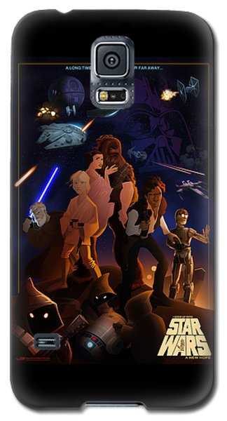 I Grew Up With Starwars Galaxy S5 Case