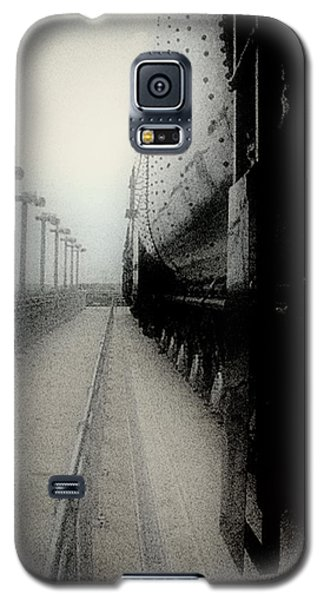 I Hear That Lonesome Whistle Blow Galaxy S5 Case by RC deWinter