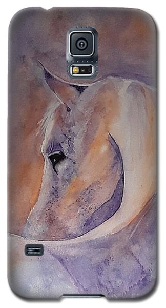 I Hear You - Painting Galaxy S5 Case by Veronica Rickard