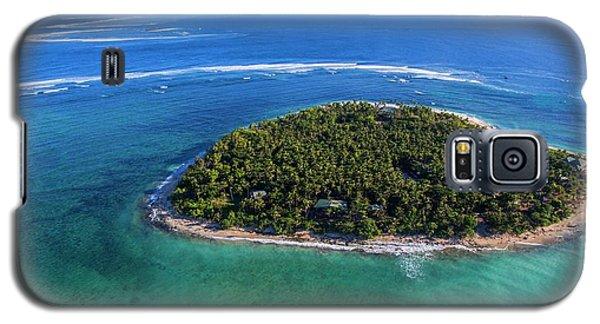 Galaxy S5 Case featuring the photograph I Heart Fiji by Brad Scott