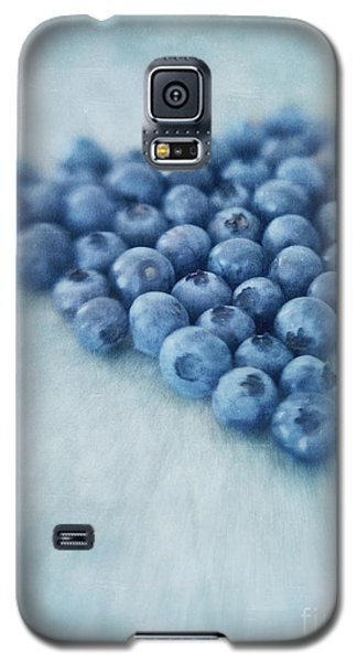 Still Life Galaxy S5 Cases - I love blueberries Galaxy S5 Case by Priska Wettstein
