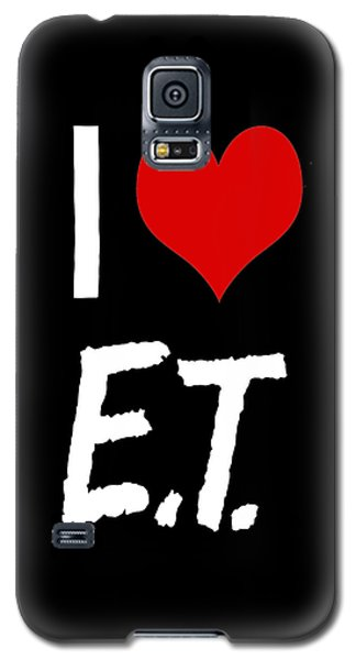 Galaxy S5 Case featuring the digital art I Love E.t. by Gina Dsgn