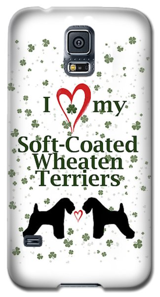 I Love My Soft Coated Wheaten Terriers Galaxy S5 Case
