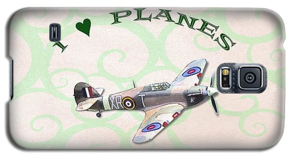 I Love Planes - Hurricane Galaxy S5 Case