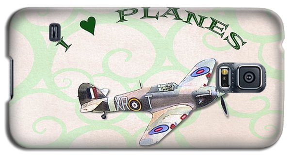 I Love Planes - Hurricane Galaxy S5 Case