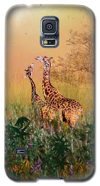 Galaxy S5 Case featuring the photograph I Love You Mom by Diane Schuster