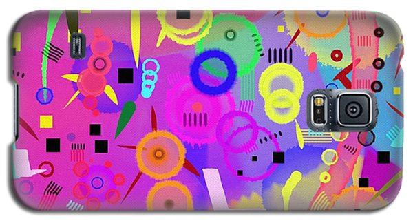 Galaxy S5 Case featuring the digital art I Once Was Happy by Silvia Ganora