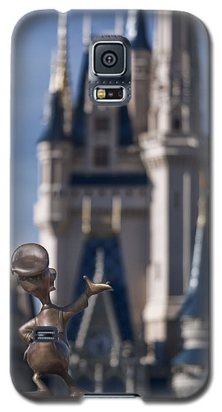 I Present You Cinderella's Castle Galaxy S5 Case by Eduard Moldoveanu