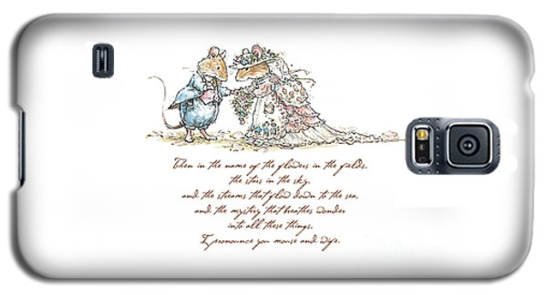 I Pronounce You Mouse And Wife Galaxy S5 Case