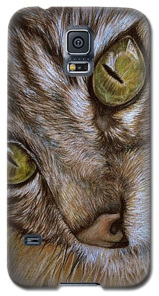 Galaxy S5 Case featuring the drawing I See by Heidi Kriel