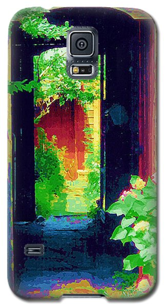 I Stand At The Door And Knock Galaxy S5 Case