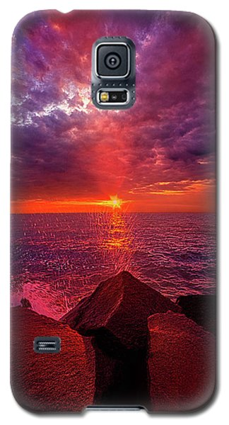 Galaxy S5 Case featuring the photograph I Still Believe In What Could Be by Phil Koch