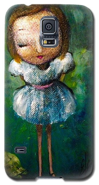 Galaxy S5 Case featuring the painting I Still See You by Eleatta Diver