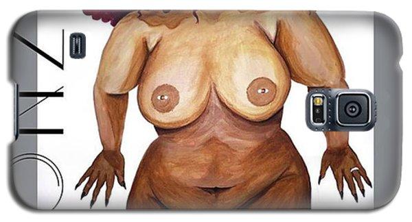 Nudes Galaxy S5 Case - I Think I'm Finished Lol #thickgirls by AGONZA Art