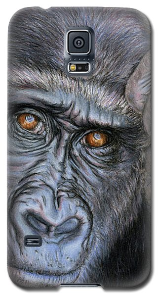 Gorilla Galaxy S5 Case - I Think Therefore I Am by Sarah Batalka