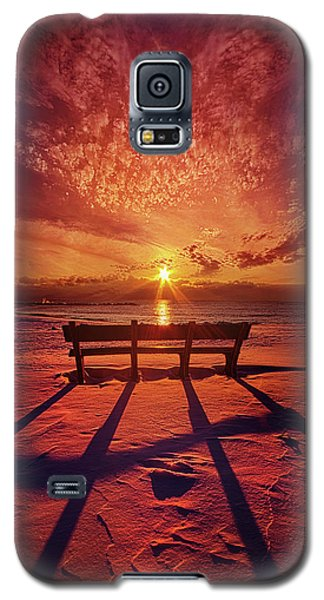 Galaxy S5 Case featuring the photograph I Will Always Be With You by Phil Koch