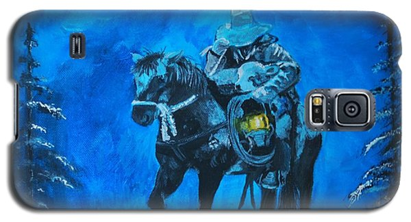 Galaxy S5 Case featuring the painting I Will Carry You by Leslie Allen