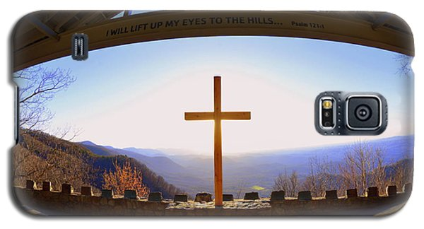 I Will Lift My Eyes To The Hills Psalm 121 1 Galaxy S5 Case