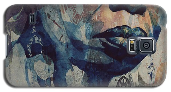 Rhythm And Blues Galaxy S5 Case - I Wish I Knew How It Would Be  Feel To Be Free by Paul Lovering
