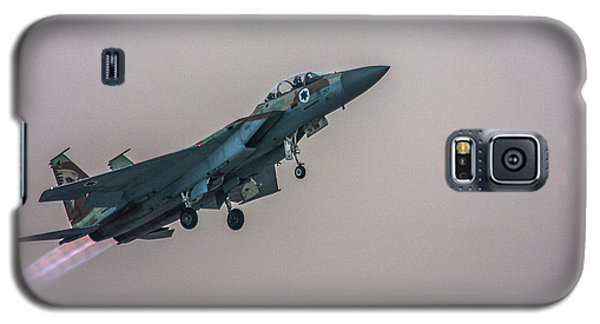 Galaxy S5 Case featuring the photograph Iaf F-15i Ra'am by Amos Dor