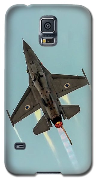 Galaxy S5 Case featuring the photograph Iaf F-16i Sufa by Amos Dor