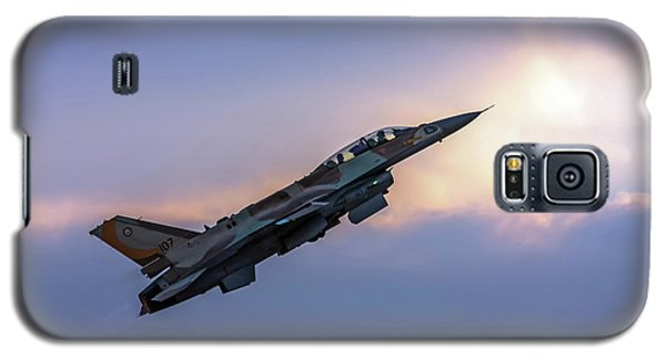 Galaxy S5 Case featuring the photograph Iaf F-16i Sufa Nr. 107 by Amos Dor