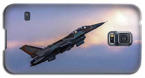 Iaf F-16i Sufa Nr. 107 Galaxy S5 Case by Amos Dor