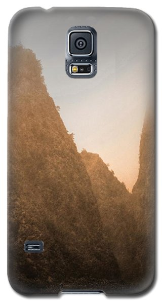 Iao Needle In Sepia Galaxy S5 Case