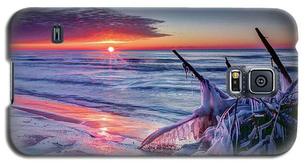 Ice Age Sunrise 1 Galaxy S5 Case