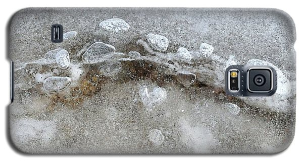 Ice And The Beach Four  Galaxy S5 Case by Lyle Crump