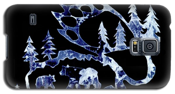 Ice Bears 1 Galaxy S5 Case by Larry Campbell