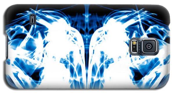 Ice Blue Galaxy S5 Case