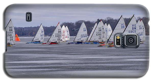 Ice Boat Racing - Madison - Wisconsin Galaxy S5 Case