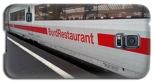 Ice Bord Restaurant At Zurich Mainstation Galaxy S5 Case