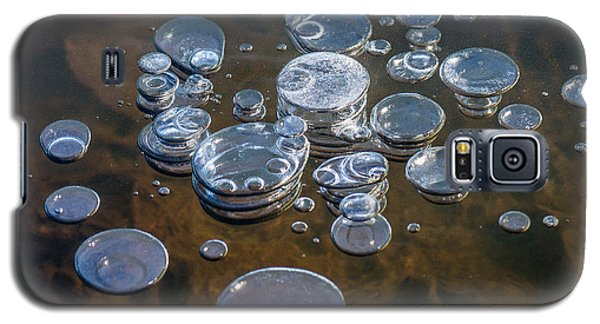 Ice Coins On The Water Galaxy S5 Case