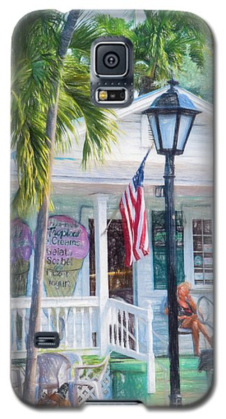 Ice Cream In Key West Galaxy S5 Case