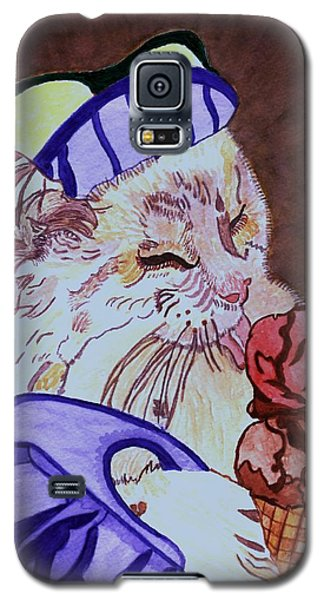 Ice Cream Kitty Galaxy S5 Case