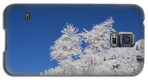 Ice Crystals Ute Pass Cos Co Galaxy S5 Case