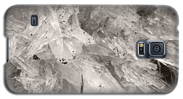 Ice Crystals Galaxy S5 Case by Heather Kirk