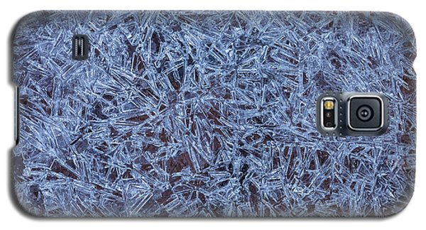 Ice Crystals Galaxy S5 Case by Jonathan Nguyen