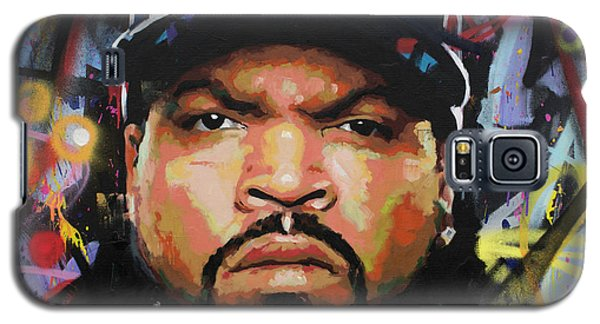 Galaxy S5 Case featuring the painting Ice Cube by Richard Day