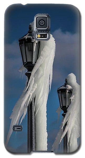Ice Lamp Ladies Galaxy S5 Case