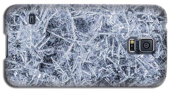 Ice On Minnehaha Creek  Galaxy S5 Case by Jim Hughes