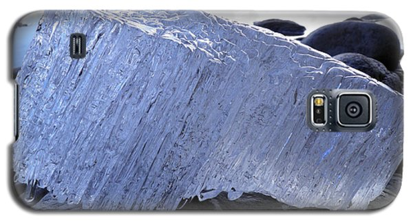 Galaxy S5 Case featuring the photograph Ice On Rocks 1 by Sami Tiainen
