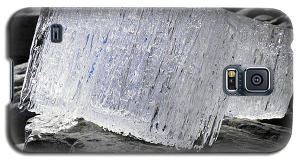 Galaxy S5 Case featuring the photograph Ice On Rocks 2 by Sami Tiainen