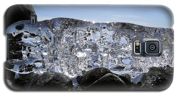 Galaxy S5 Case featuring the photograph Ice On Rocks 3 by Sami Tiainen